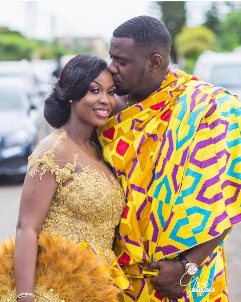 John Dumelo And Mawunya S Traditional Ghanaian Wedding