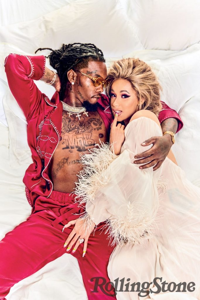Cardi B Gives Offset A Lap Dance Onstage At Bet Awards: Cardi B & Offset Bare It All In New Photo's For Rolling Stone